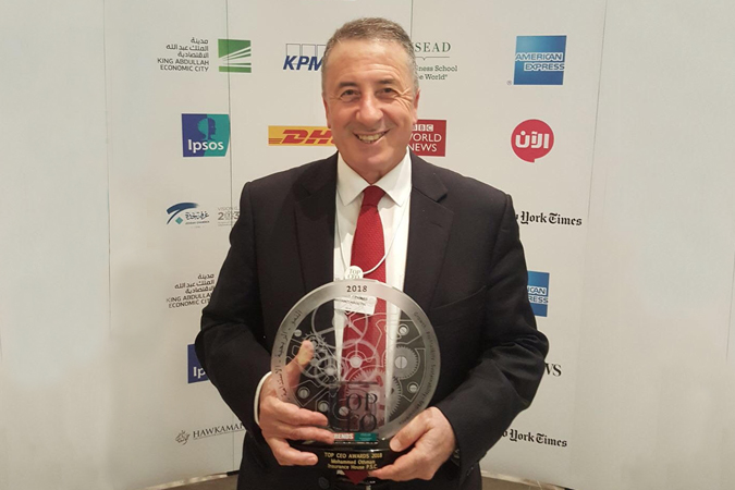 "Insurance House CEO Wins Award: ""Top 100 CEOs"" 2018"