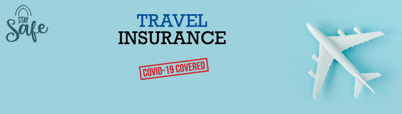 Travel safely with COVID-19 insurance