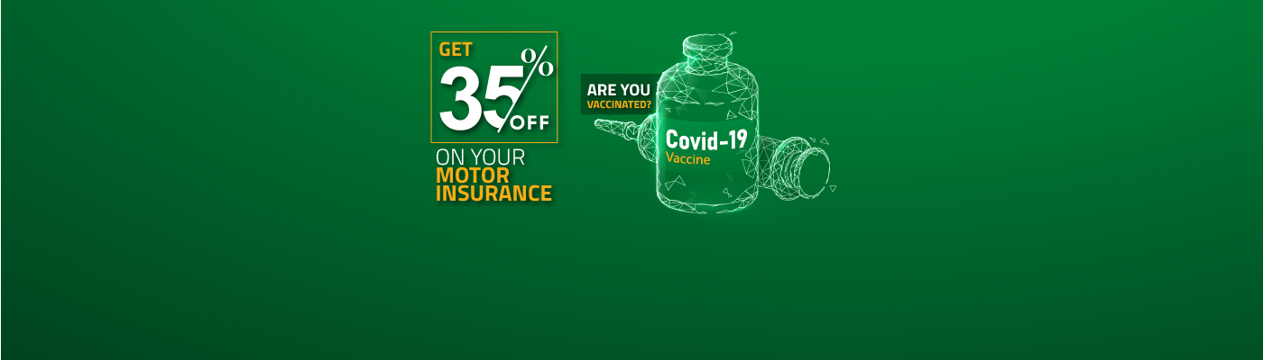 Get 35% Off On Your Motor Insurance